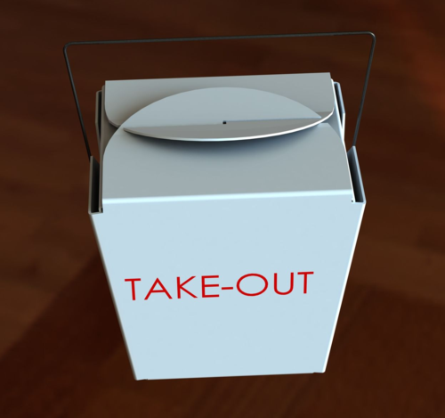 Take-Out Food Box